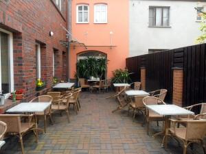 """Terrasse vom """"Markt 6"""""""
